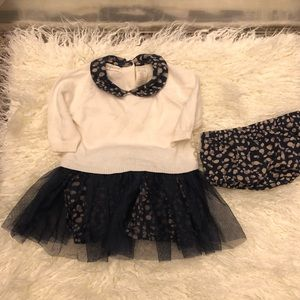 Adorable 0-3 month baby set!